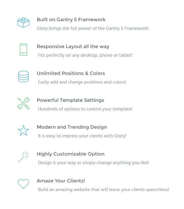 IT Glory - Gantry 5, Business & Portfolio Joomla Template - 2