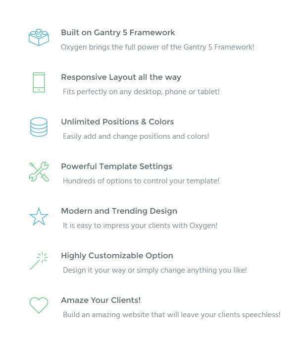 IT Oxygen - Gantry 5, Business & Portfolio Joomla Template - 2